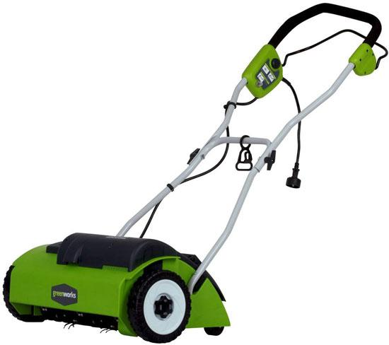 GreenWorks 27022 10 Amp 14 Corded DethatcherScarifier