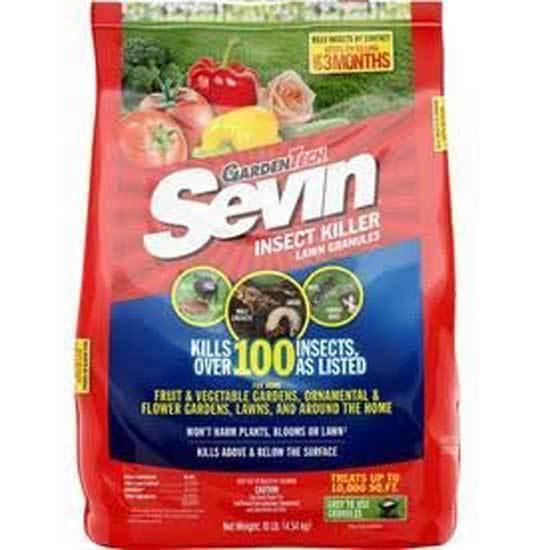 Sevin Insect Killer Lawn Granules