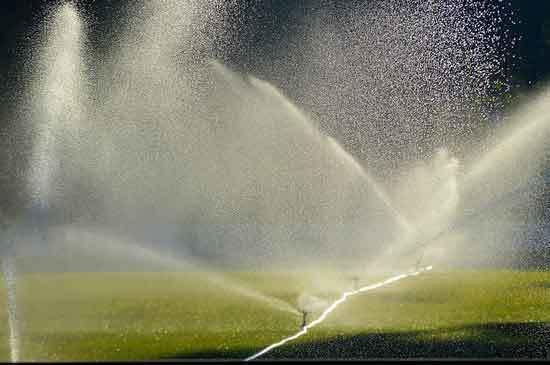 Sprinklers Irrigation