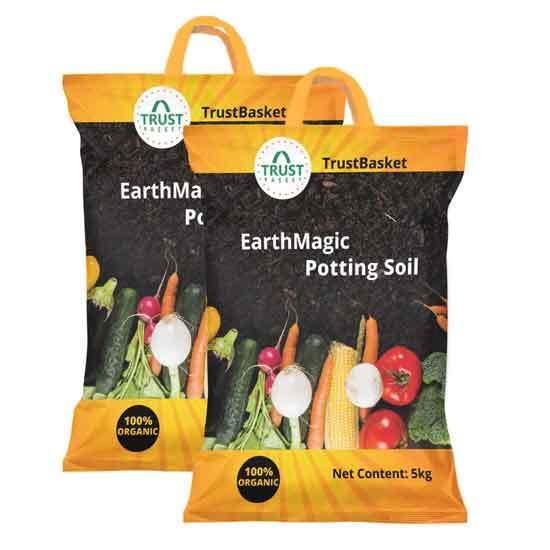 Organic Earth Magic Potting Soil Fertilizer