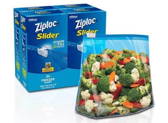 Ziploc Slider Freezer Bags