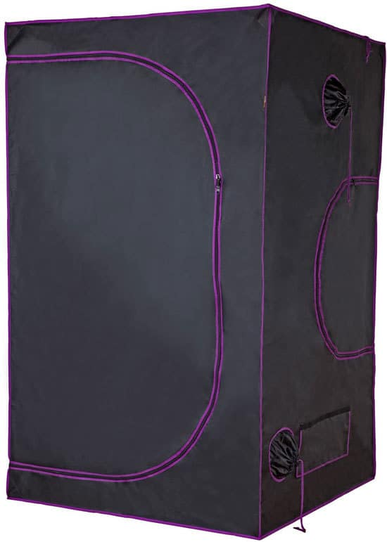 Best Grow Tent High Quality and Durable Apollo Horticulture 48x48x80 Mylar Hydroponic Grow Tent