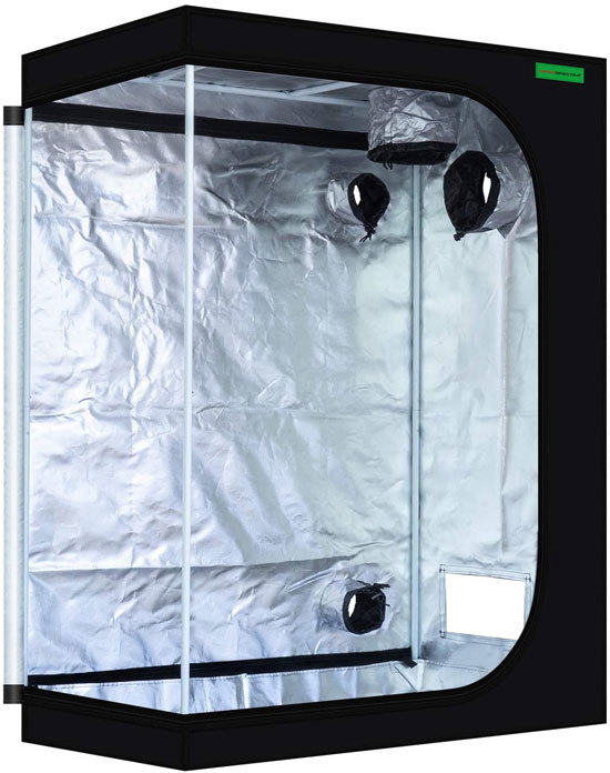 Best Grow Tent Sturdy and Reliable VIPARSPECTRA 48x24x60 Reflective 600D Mylar Hydroponic 4x2 Grow Tent