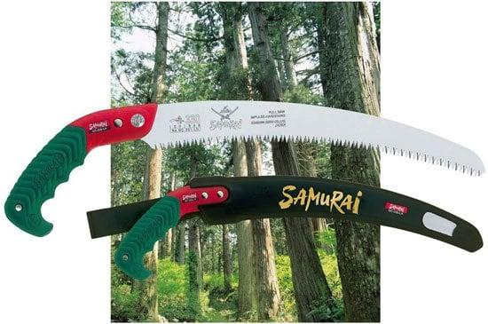 Best Pruning Saw Samurai Ichiban 13 Curved Pruning Saw
