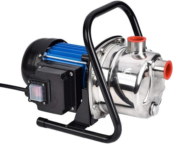 Best Sprinkler Pump FLUENTPOWER 1 HP Portable Stainless Steel Sprinkling Pump