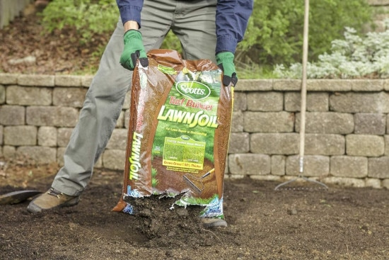 How Much Does a Yard Of Topsoil Weigh Scotts Turf Builder LawnSoil