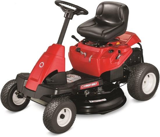 Troy Bilt 30 Inch Premium Neighborhood 382cc Riding Lawn Mower Best Riding Lawn Mower For Hills