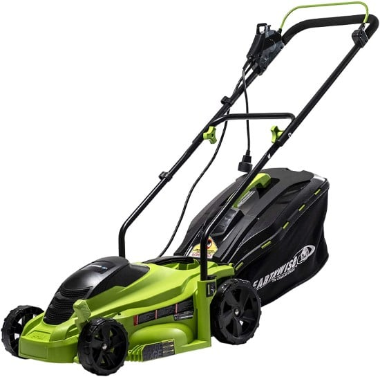Earthwise 14 Inch 11 Amp 50614 Commercial Corded Lawn Mower Best Commercial Lawn Mower