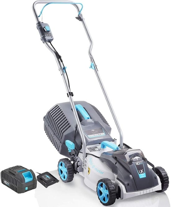 Redback 15 Inch Lightweight Brushless Commercial Cordless Lawn Mower Best Commercial Lawn Mower