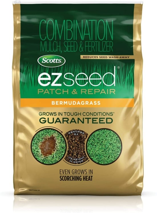 Scotts EZ Seed Patch and Repair Bermudagrass When to plant Bermuda grass seed