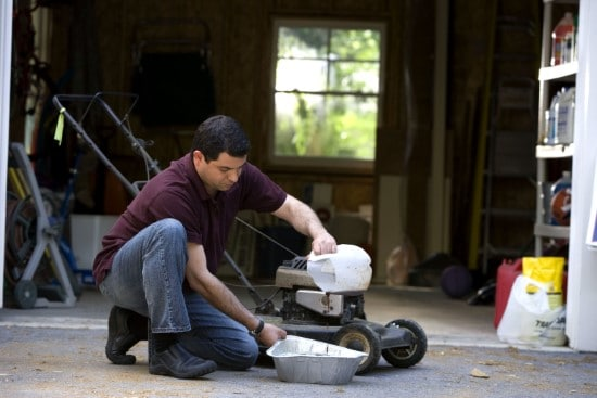 What kind of oil is for a lawn mower